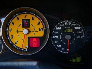 Ferrari F430 Scuderia F1, Harnais, Carbone+LED, Navi, Bluetooth   - 16