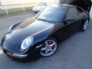 Porsche 911 997 4S 3,8L 355Ps Tipt Cabriolet /PASM Pack Chrono + PCM TOE Sieges Sports   - 2