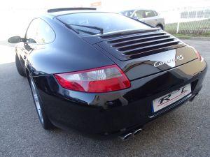 Porsche 911 997 4S 3,8L 355Ps Tipt Cabriolet /PASM Pack Chrono + PCM TOE Sieges Sports   - 8